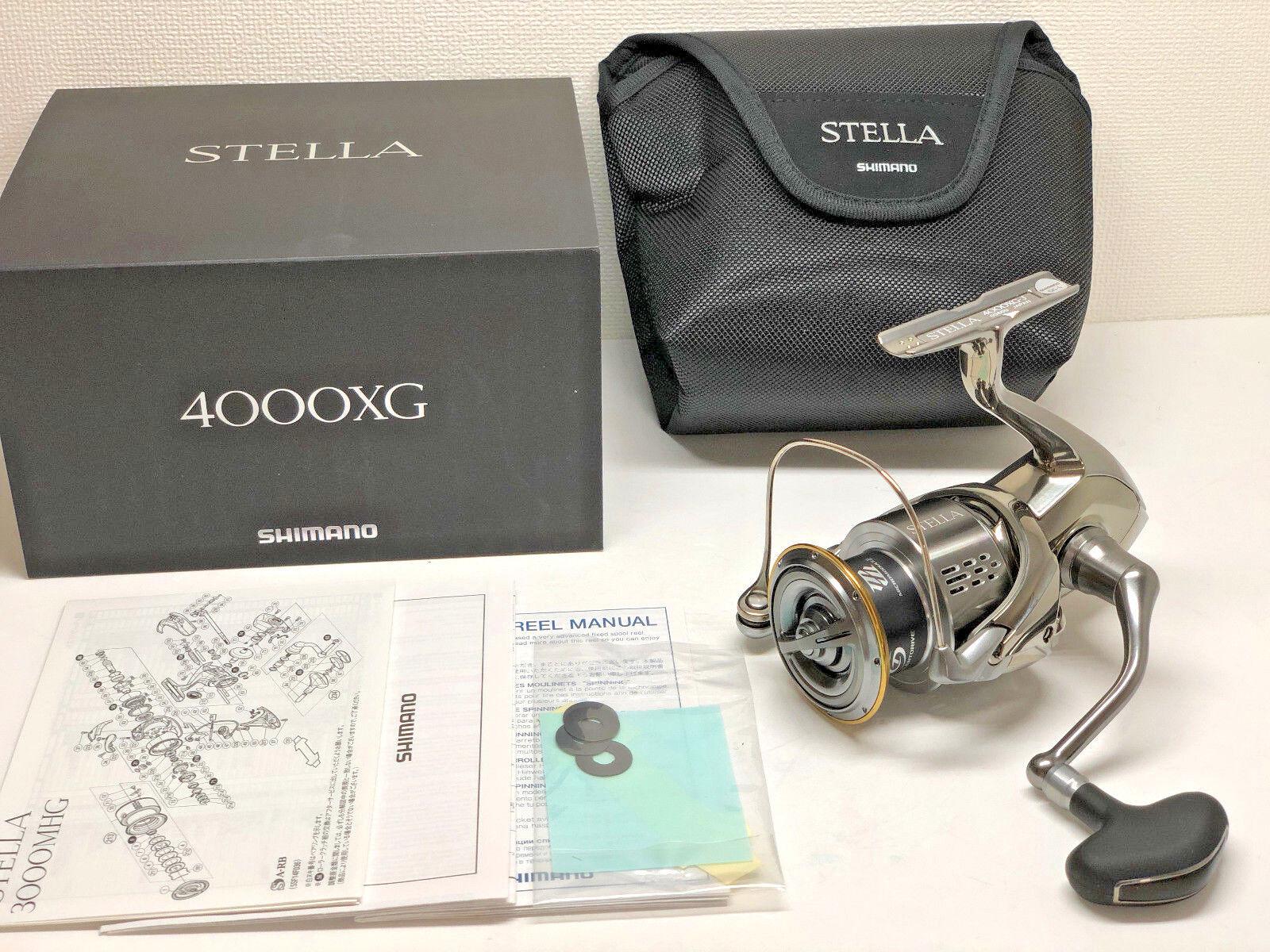 SHIMANO 18 STELLA 4000XG  - Free Shipping from Japan