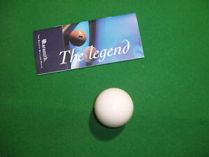 Aramith Pool Table White Ball Inch UK Size - 7 inch pool table