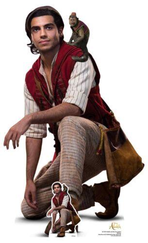 Aladdin et Abu d/'Aladdin Film Officiel Lifesize Cardboard Découpe//Voyageur debout