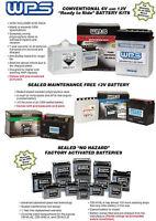 Wps Yb30lb Battery Standard Polaris Sportsman 500 600 700 800 Efi Twin Ho