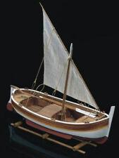 "Authentic, Mini Wooden Model Ship Kit by Mamoli: the ""Gozzo Mediterraneo"""