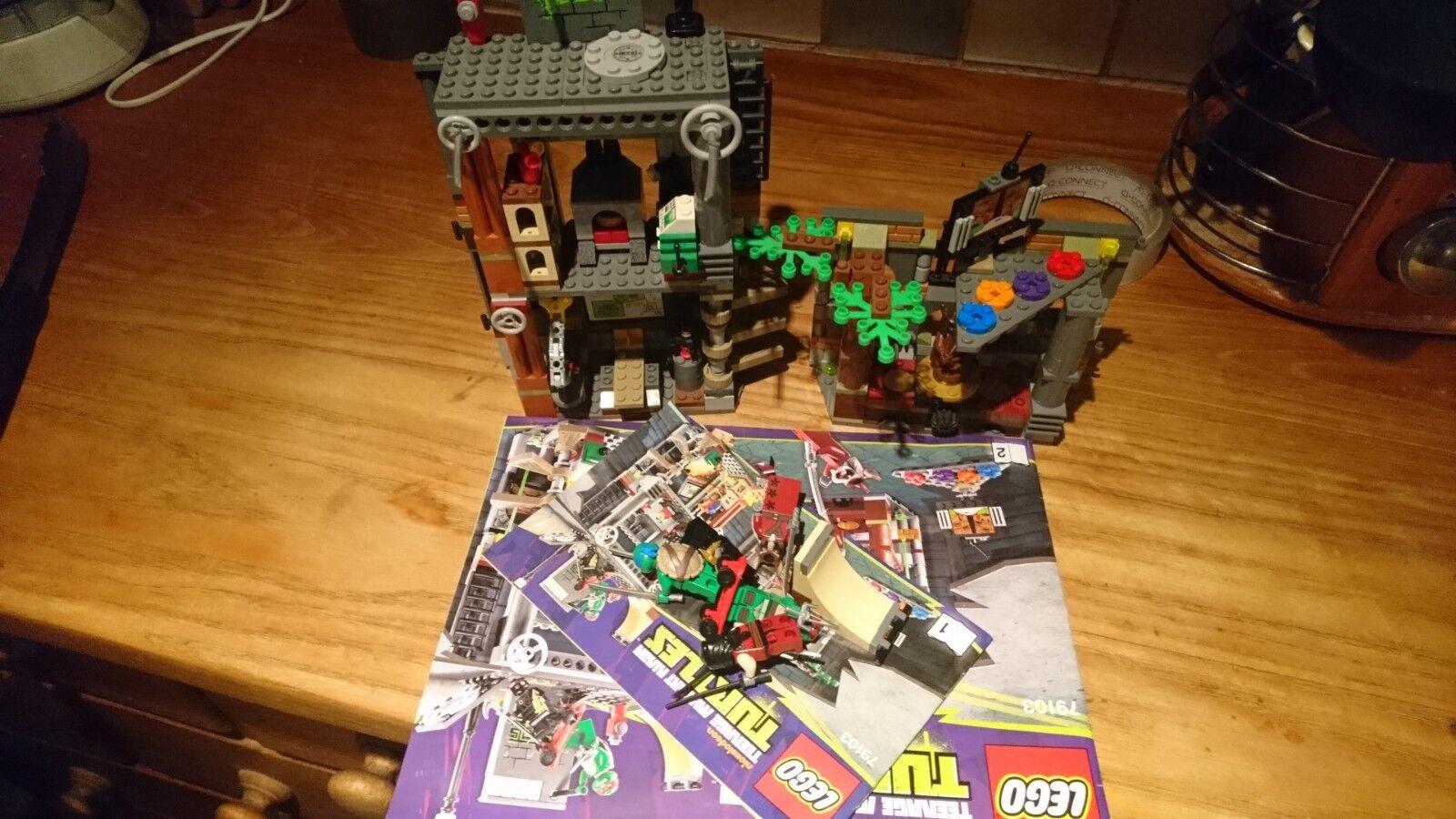 LEGO TEENAGE MUTANT NINJA TURTLES TARTARUGA TANA ATTACCO  79103