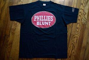 fe0d0f6e 1992 NFC Futura Stash PHILLIES BLUNT vintage 90s t-shirt hip hop rap ...