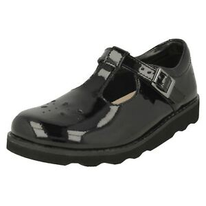 Zapatos T Bar Wish Corona Clarks Charol wT0Yq66