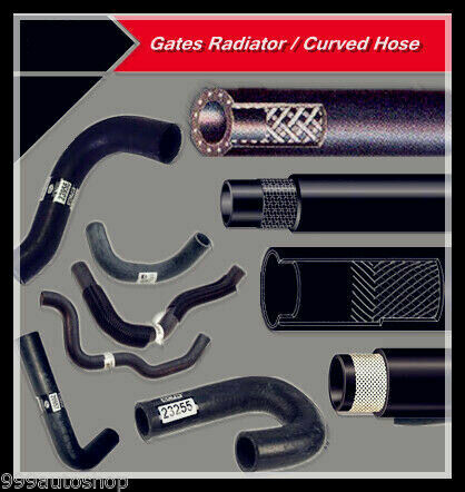 Gates Hose Upper-Eng. to Pipe to 2/92 FIT TOYOTA Tarago TCR 1990-97