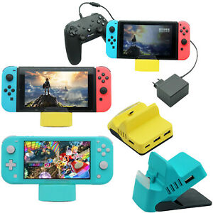 For-Gaming-Switch-Switch-Lite-Console-Charging-Dock-Station-Base-w-USB-HUB