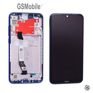 Display-Pantalla-Ecra-LCD-Tactil-Touch-Marco-Azul-Xiaomi-Redmi-Note-8-ORIGINAL