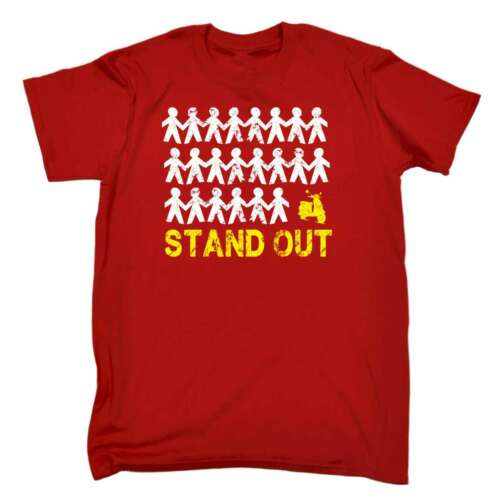 Funny Joke Moped Bike Auto T-SHIRT Men/'s Stand Out Scooter