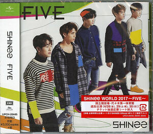 Details about SHINEE-FIVE-JAPAN CD+BOOK G88