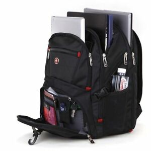 d23e2f82d8f3b Image is loading NEW-Wenger-Swissgear-STYLE-Laptop-Backpack-Notebook-Bag-