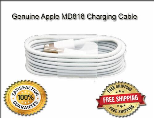Plus Lightning Usb Cargador plomo cable de sincronización Original Nuevo Apple Iphone 5 5c 5s 6 6