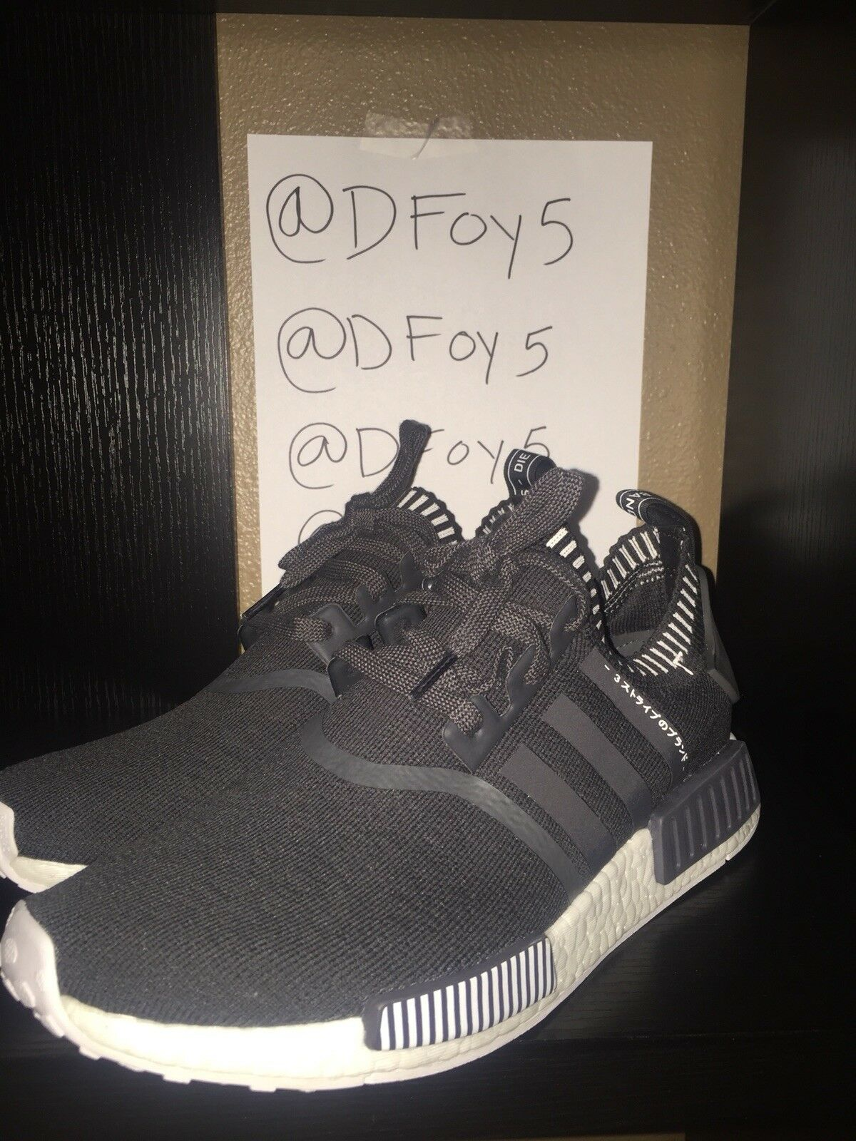 ADIDAS NMD_R1 PK PRIMEKNIT JAPAN BOOST DARK GREY WHITE S81849 Price reduction