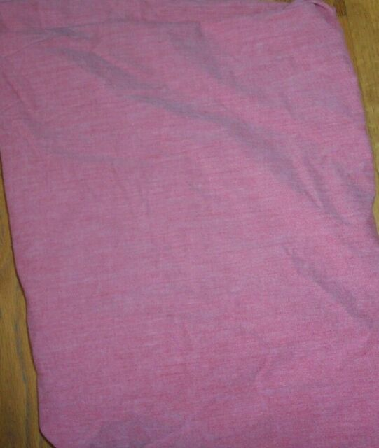 Pottery Barn Kids Red Chambray Fitted Crib Sheet Ebay
