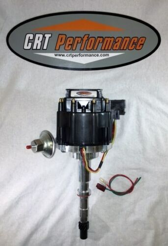 A-Team Performance Pro Series Ready to Run R2R Distributor Compatible With AMC Jeep 290 304 343 360 390 401 V8 Engine Black Cap