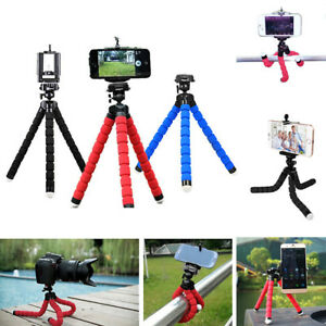 Unversal-Durable-Set-Flexible-Stand-Tripod-Mount-Holder-For-Smart-Phone-Iphone