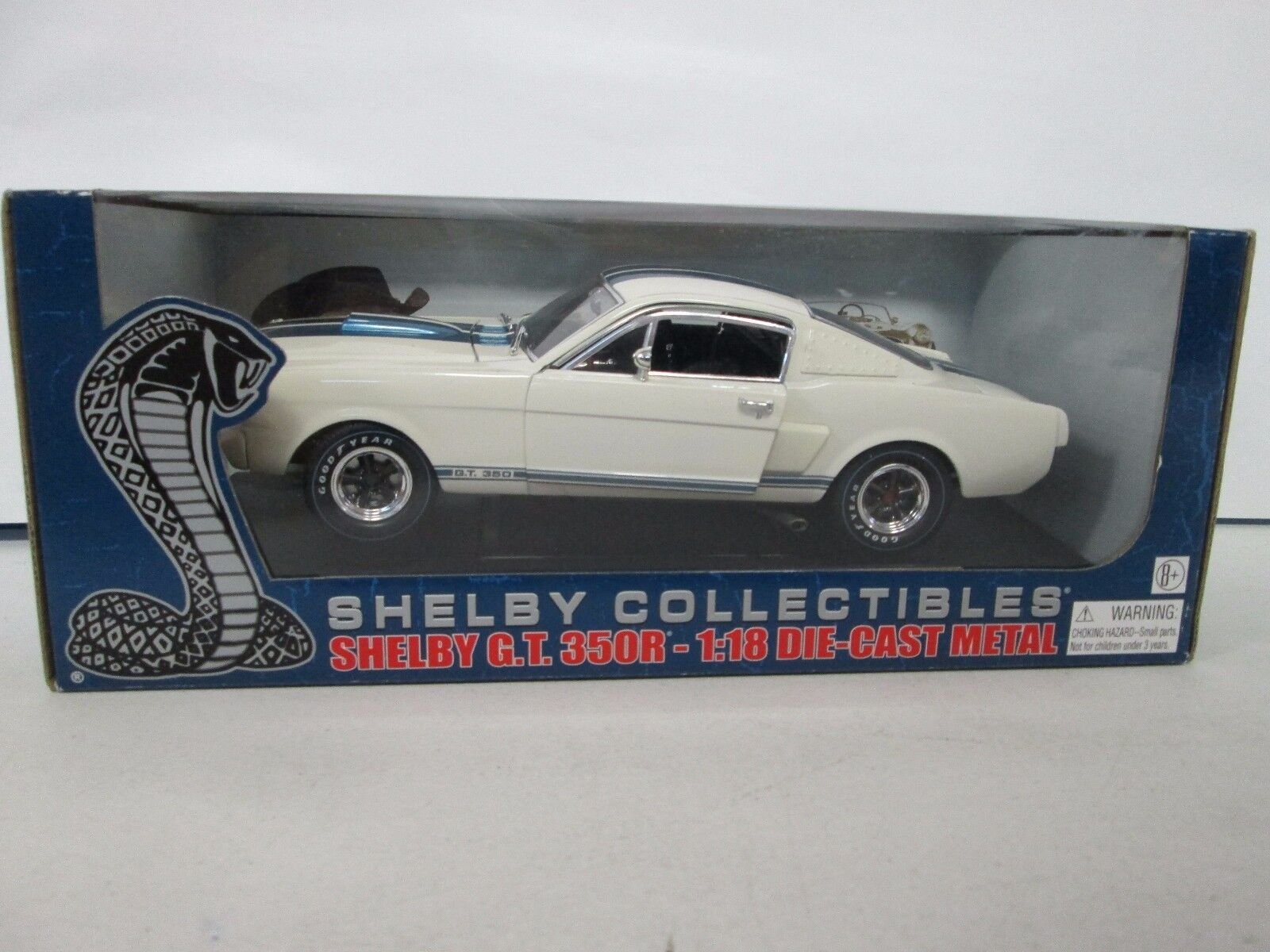 Shelby Collectibles Shelby G.T. 350R bianca 1 18