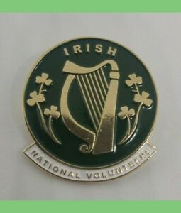 Irish-National-Volunteers-enamel-pin-badge-1916-Irish-Republic-Ireland-war