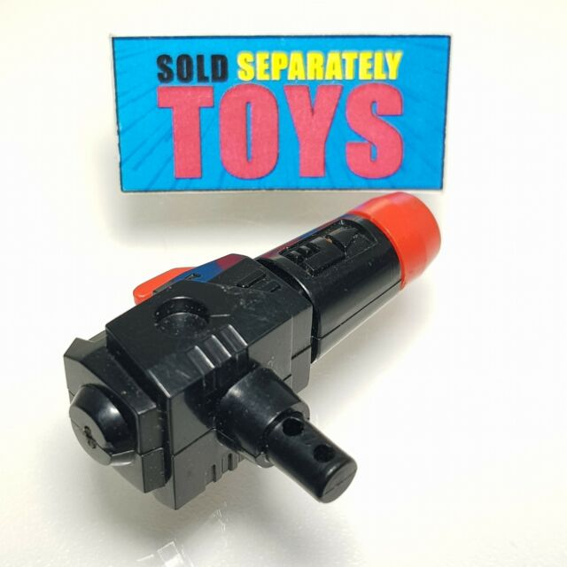Vintage Transformers G1 1985 Microscope Perceptor missile Rocket Weapon