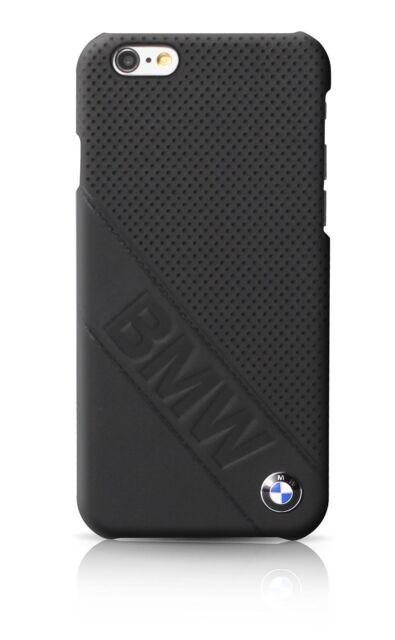 UFFICIALE BMW FIRMA COLLEZIONE Custodia rigida INCLINATO LOGO PER IPHONE 6 & 6S