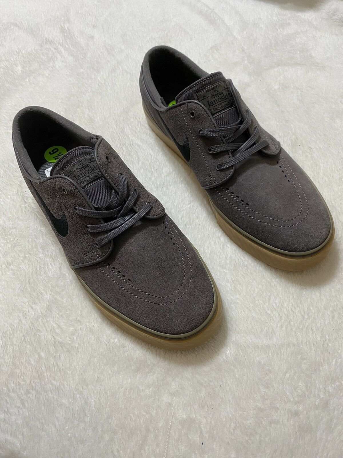 Salida baños amistad  Nike SB Zoom Stefan Janoski Thunder Grey Gum Light Brown 333824-069 Sz 8.5  for sale online | eBay