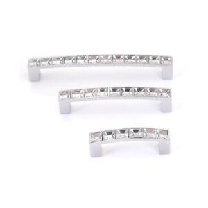 3bfc6a356991 Image is loading Crystal-Drawer-Handle-U-Shaped-Diamond-Shoe-Cupboard-