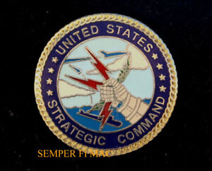 Details about US STRATEGIC COMMAND HAT LAPEL PIN OFFUTT AFB SAC WING GIFT