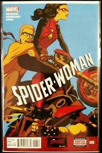SPIDER-WOMAN-6-2015-MARVEL-Comics-VF-NM-Comic-Book