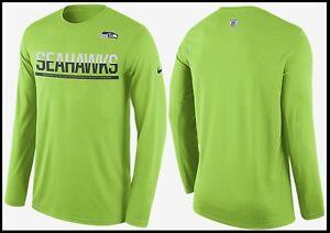 NWT Men L   XL Nike NFL🏈 Seattle Seahawks DriFit Team Practice ... 67d2369f1