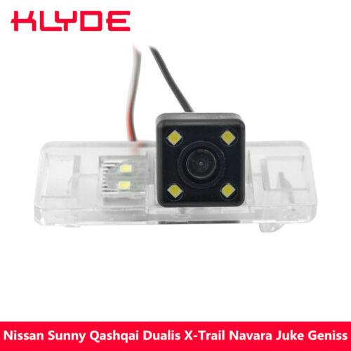 Car Rear Backup Camera Reverse Parking For Nissan Sunny Qashqai Dualis X-Trail