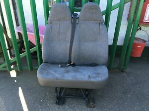 Ford Transit Mk6 Mk7 00-14 Double Seat With Belts & Buckles Conversion