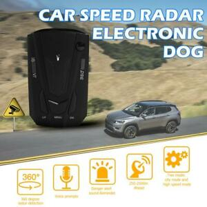V7-Car-GPS-Radar-Detector-English-Russian-Vehicle-Speed-Voice-Alert-Warn-Black