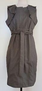 MOSSMAN-Grey-Dress-Size-10