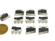 10 Pieces Limit Switch Lever 3d Printer Nc No Arm Micro Small Ac Dc A
