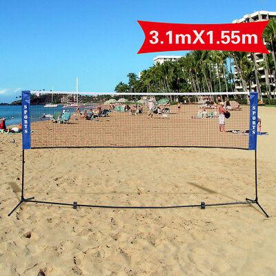 Filet de mini-badminton , tennis, volley-ball avec pied bras, sac 2 tailles