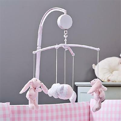 Baby Kid Toy Crib Mobile Bed Bell Holder Arm Bracket+ Wind-up Music Box Set LIN