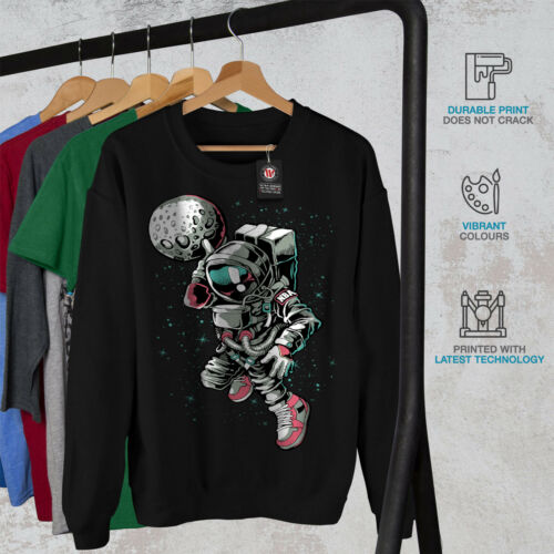 Men Astronaut Black New Play Sweatshirt PPwU5arxq