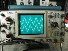 Tektronix 475 150mhz 2 Channel Working Oscilloscope