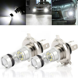 1x High Power H4 9003 Cree LED 12 SMD Motorcycle Headlight Low Beam Light US