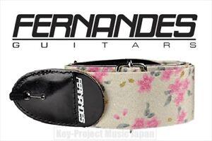 Details about FERNANDES Miyabi NO 464 Sakura Japanese Kimono Strap for  Guitar & Bass New