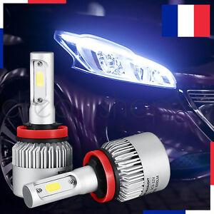 LAMPE-LED-PHARE-VOITURE-FEUX-XENON-BLANC-HEADLIGHT-72W-6000K-H7-2-PCS