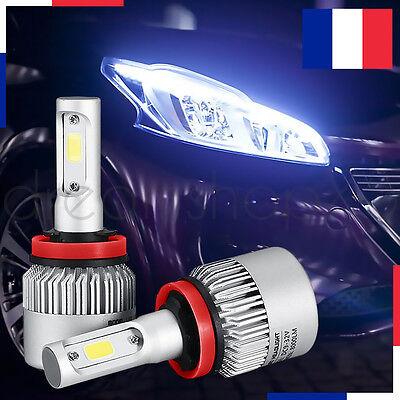 LAMPE LED PHARE VOITURE FEUX XENON BLANC HEADLIGHT 72W 6000K H7 2 PCS