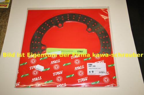 MST238 Bremsscheibe vorne von TRW mit ABE starr für BMW R1150GS R11R ab 2004
