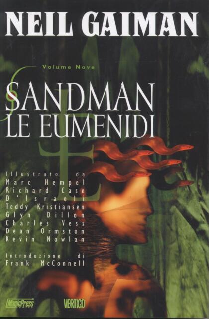 SANDMAN N°9 Le eumenidi - SCONTO 50% - NEIL GAIMAN