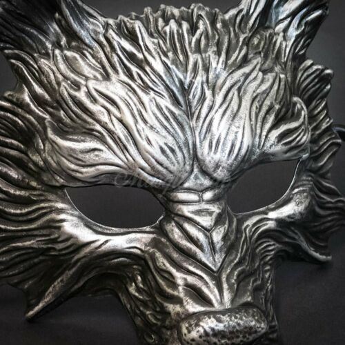 Wolf Animal Spirit Wall Decoration Costume Party Halloween Masquerade Mask