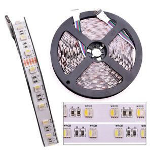 24V-12V-RGBW-LED-strip-4-colors-in-1-led-5050-smd-Flexible-tape-60LED-m-5m-12MM