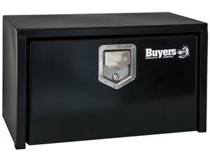Buyers Products 1703100 14X16X24 Black Steel Underbody Truck Box w/Paddle Latch | eBay