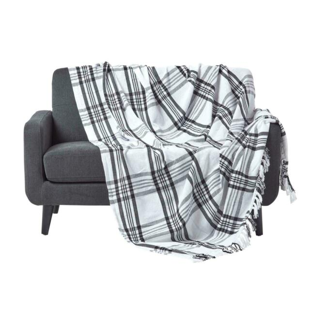 Cotton Extra Large Tartan Throws For