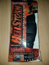 BLACKHAWK HELLSTORM LIGHTFIGHTER PADDED TACTICAL ASSAULT GLOVES - XL 8045XLBK