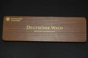 Deutscher Forest 2010-2015 Wooden Case For , Without Coins! Very Good Condition