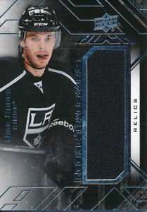 2015-16-UD-Black-RTR-NS-Nick-Shore-Rookie-Trademarks-Relics-Jersey-Insert
